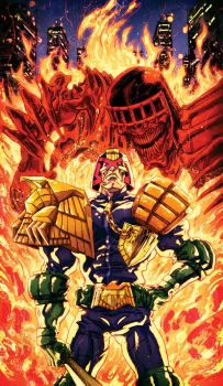 Judge Dredd by korintic