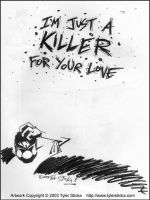 Sketchbook Pg 46 - Killer... by tylersticka