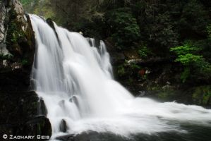 Smoky Mountain Waterfalls 7 by Zachthephotoman