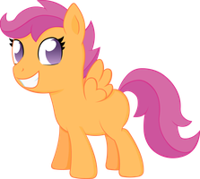 Scootaloo by Doctor-G