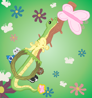 ... (Fluts Keyblade) by ReyJJJ