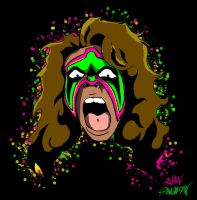 Ultimatewarrior by SINGLETON930