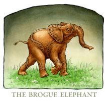 The Brogue Elephant by WorldofPeterGeorge
