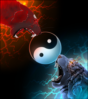 :: Yin and Yang :: by The-F0X