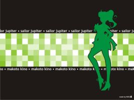 Sailor Jupiter Wallpaper by Willianac