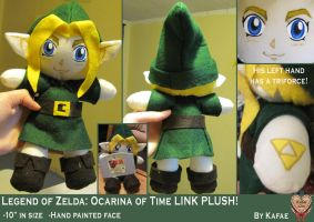 LOZ:OOT Kid Link Plush by Kafae-Latte