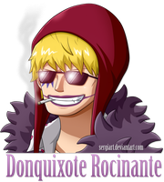 One Piece - Donquixote Rocinante by SergiART