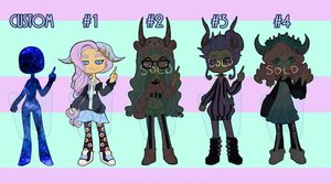 Pastel and Horns Adopts [OPEN] by dai