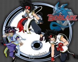 Beyblade Ray Project by katarinna