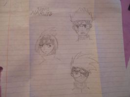 Naruto Sketches by Mosspetal