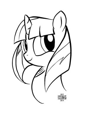 [SAMPLE] Line Art - Bust by BoxedSurprise