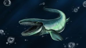 Mosasaurus by Silver-Fate