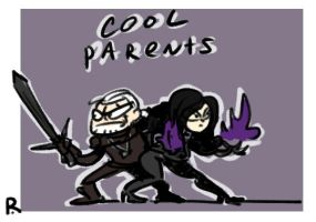The Witcher 3, doodles 107 by Ayej