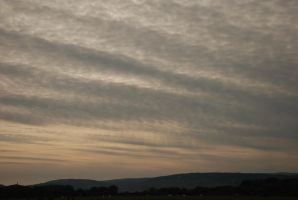 Cloudy Evening sky stock by LimeStock