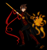 Attacking Fire by Ashuri