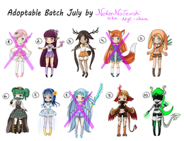 NEW OFFER Adoptable Batch July (OPEN ) $ or Points by MyC-chan