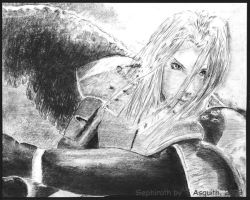 Final Fantasy - Sephiroth by bolsterstone