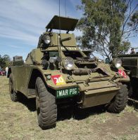 Ferret Scout car on display by RedtailFox