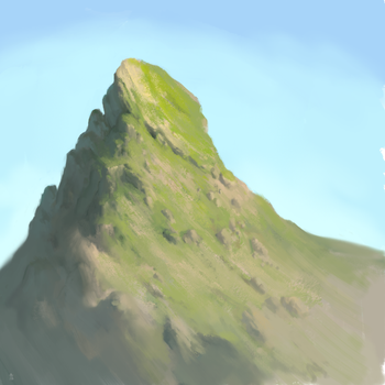Another mountain practice by Exidelo