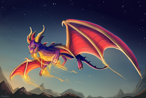 The Purple Dragon by Taluns