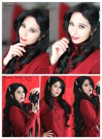 Asami Sato Test (The legend of Korra) by DidsRainfall