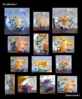 Origami: Fishbowl Collage by jazzeria