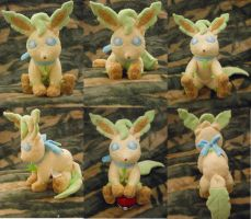 Little Lady Leafeon by PlushPrincess