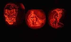 Batman Themed Pumpkins 2012 by DistantVisions