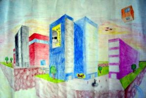 City in the Sky by Nicole12D