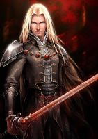 Dark Earth Illus. - Asher Vane by raythereign
