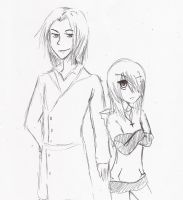 axxel an  eloy by sayhe1234