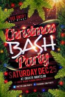 Christmas Party Flyer Templates by Industrykidz