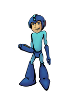 SSB4 Newcomers - Megaman by JRhyme