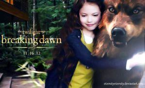 Renesmee and Jacob by EternityEternity
