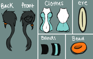 Pandia Clothes Ref. by TealHeat