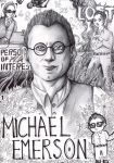 Michael Emerson by FuriarossaAndMimma