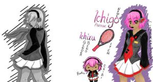Introduce . . . Ichigo Amane by Miahnna
