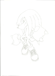 Knuckles The Echidna by MaddieTyler