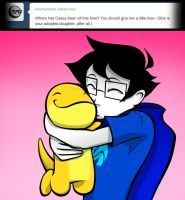 ask john egbert 81 by LeijonNepeta