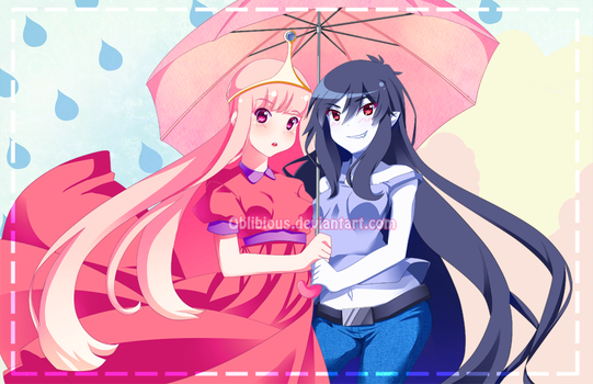 Under the Umbrella Together by Rainbowshi