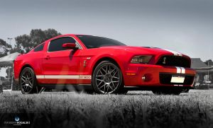 Red GT500K by RaynePhotography