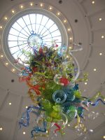 Chihuly Hanging Glass by MogieG123