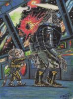 Guky and Grek-1 from Perry Rhodan by Tadeu-Costa