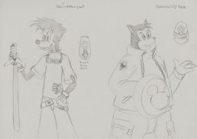 Max Goof and PJ Pete KH by anime-oujo