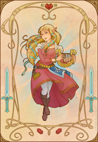 Zelda of Skyward Sword by FindChaos