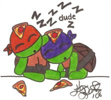 TMNT Too Much Pizza by musable