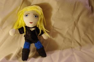 Black Canary Plushie by deense