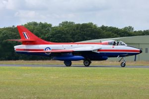 Hawker Hunter F.6a by Daniel-Wales-Images