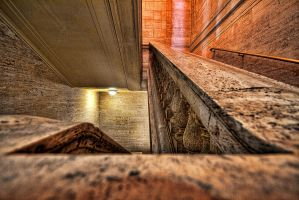 Union Station_CHI stairwell by delobbo