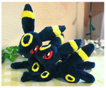 Umbreon - Handmade Plush by Piquipauparro